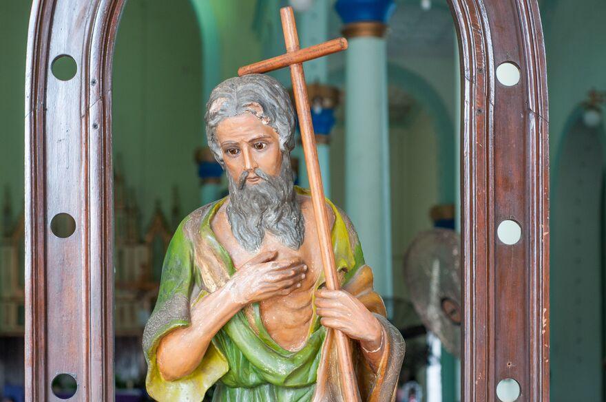 san judas tadeo estatua